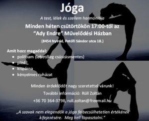 Jóga plakát 2.